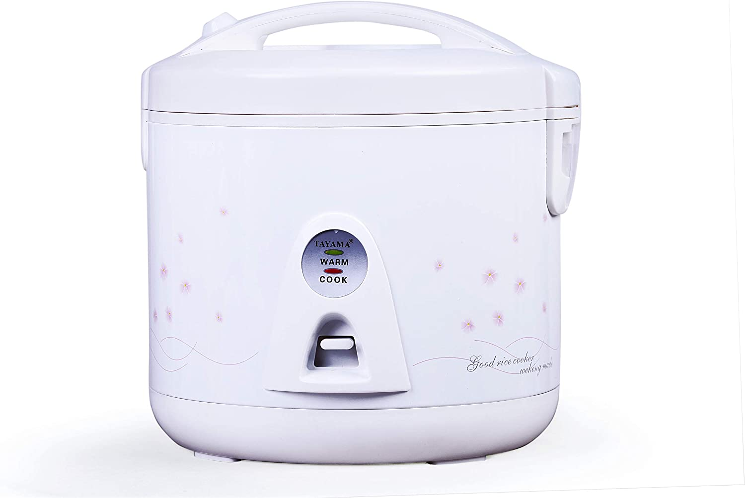 Tayama Automatic Rice Cooker & Food Steamer 10 Cup, White (TRC-1000V)