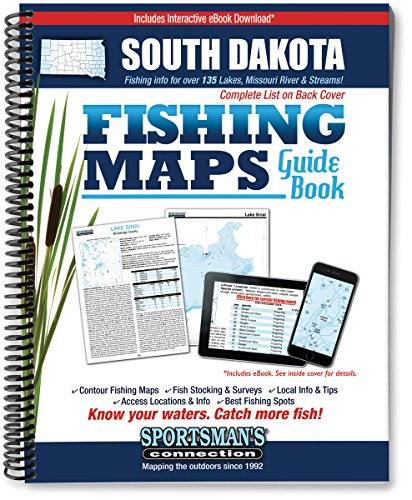 South Dakota Fishing Map ()