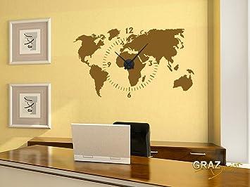 vinilo de pared decoracin de pared con reloj para el saln el pasillo la oficina