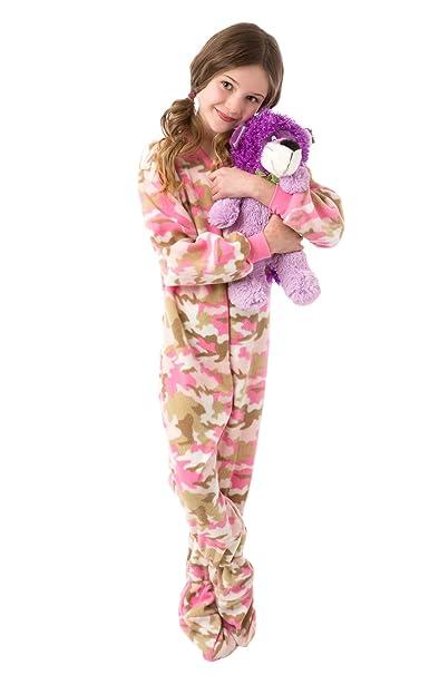 Big Feet Pyjama Co PJS Camo niños pijamas Footed: Amazon.es: Ropa y accesorios