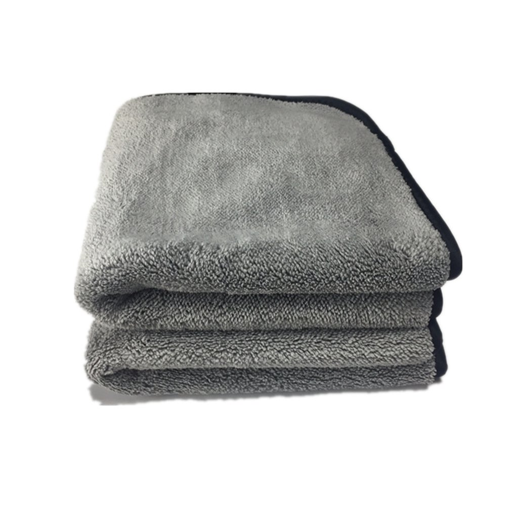EastElegant Microfiber Ultra Soft Pet Towel Super Absorbent Dog Drying Towel 16 x 24 Inch Grey 2Pack