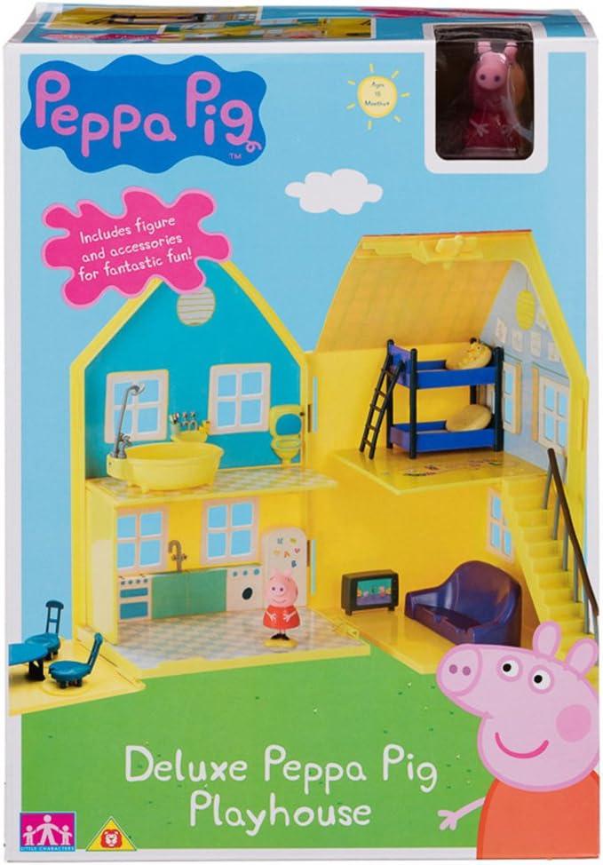 Amazon.es: Peppa Pig Deluxe - La casa de Peppa Pig: Juguetes y juegos
