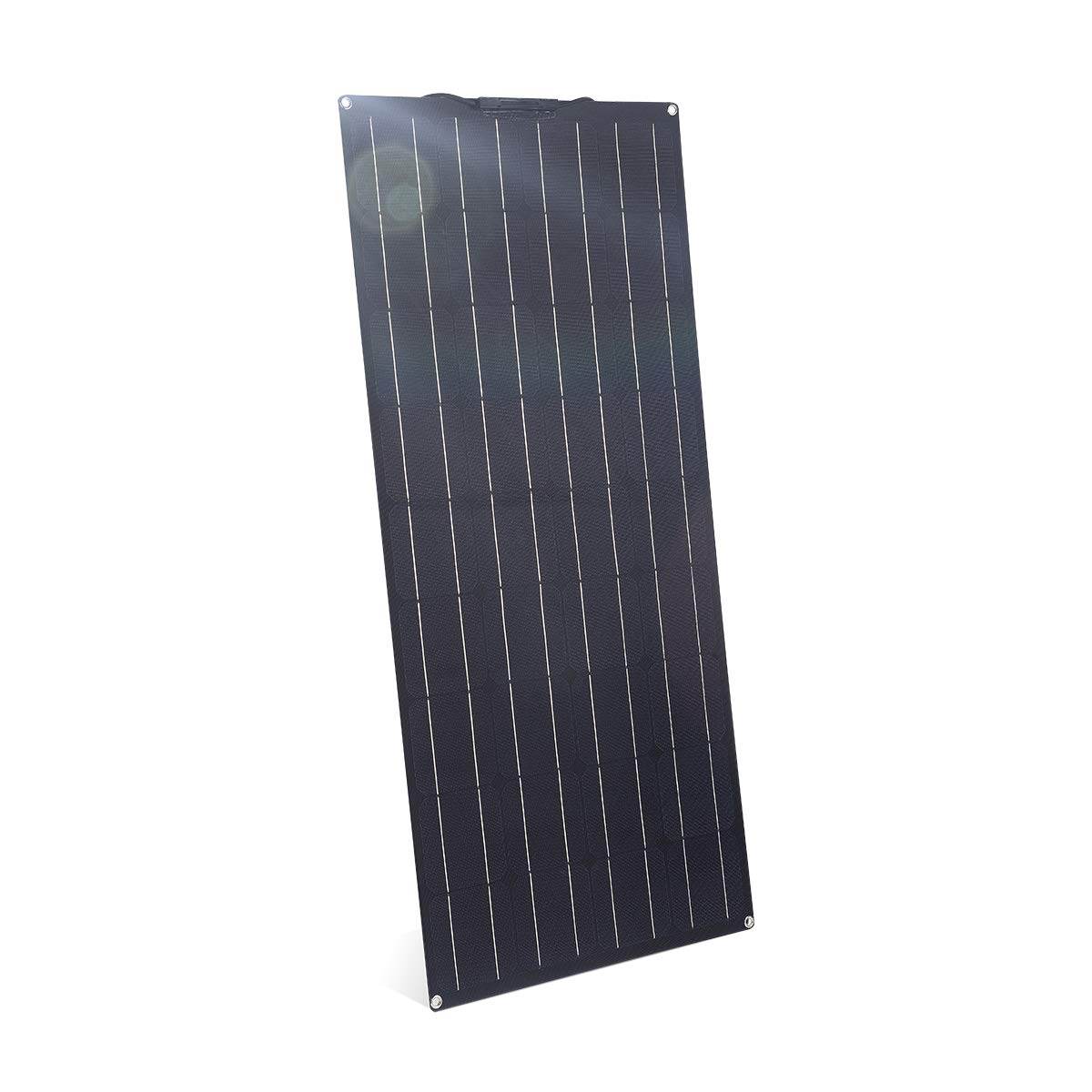 Remolque Tienda Negro Coche SARONIC Panel Solar ETFE Flex Monocristalino Semiflexible de 100W para RV Barco Bater/ía de 12V o Cualquier otra Superficie Irregular