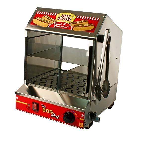 Paragon caliente perro cabaña Steamer Merchandiser para los concesionarios profesionales que requieren de calidad comercial y construcción - 8020, Red, ...