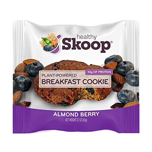 Healthy Skoop Breakfast Cookie, Almond Berry, 12 Count