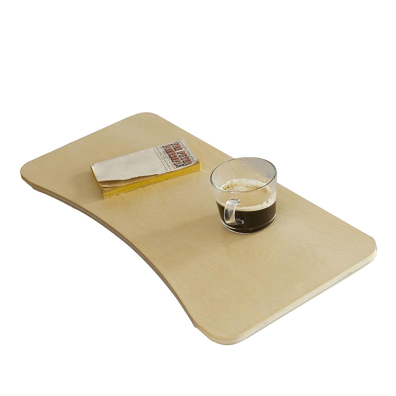SoBuy® Ripiano per Sedia a Dondolo, Tavolino da caffè, Porta PC, Tavolo Console, Betulla, FBT33-N, IT Tavolino da caffè