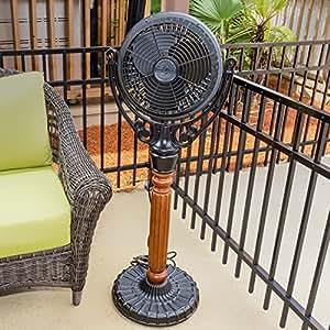 Amazon Com Fanimation Old Havana Outdoor Pedestal Mounted