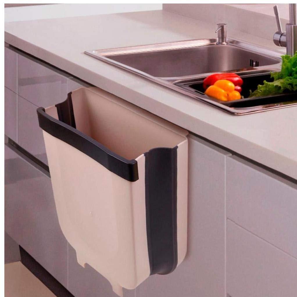 Hanging Cestino per Armadio Cucina Porta Pieghevole Cestino Fissato Governo Porta della Cucina Cassetto