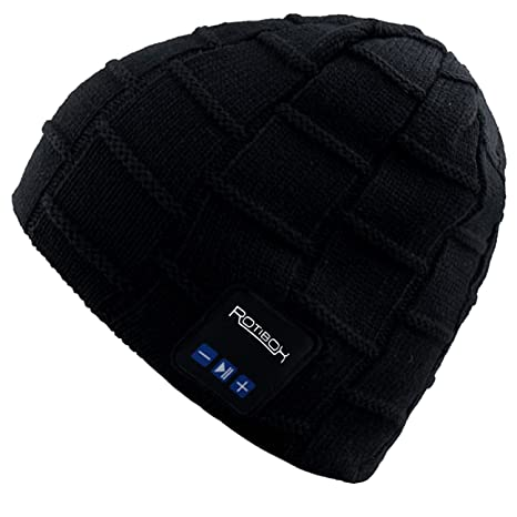 753b2054d26 Mydeal Washable Winter Mens Womens Hat Bluetooth Beanie Running Cap with  Wireless Stereo Headphones Mic Hands