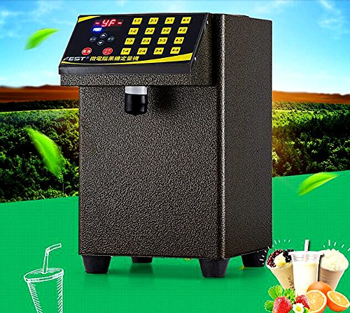 Welljoin Bubble Tea Equipment Fructose Quantitative Machine Fructose Dispenser (110v) by well join