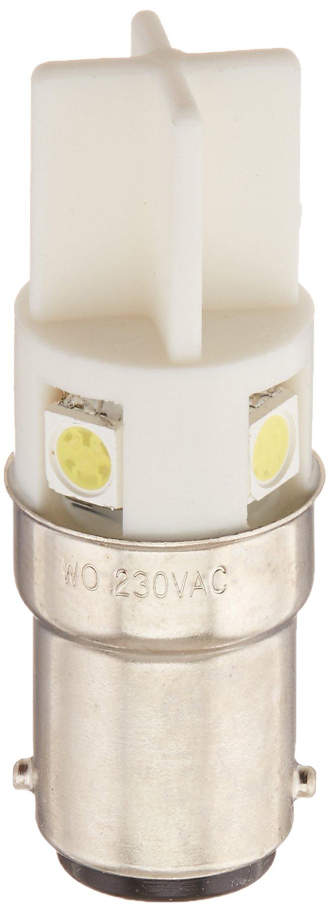 Edwards Signaling 270LEDW240V 200 Class LED Bulb, 70mm