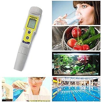 Tragbarer digitaler Monitor pH-Wasser-Tester Messgerät Schwimmbad-Test-Kit
