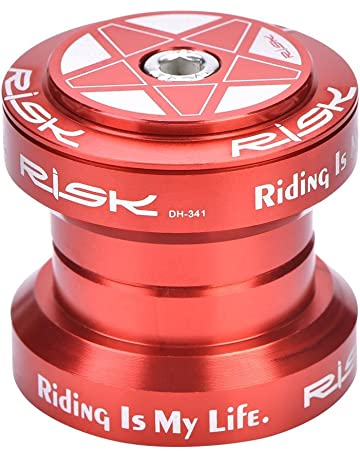 Dilwe Auriculares de Bicicleta Mecanizado CNC de Alta Precisión Aleación de Aluminio Auriculares de Bicicleta de