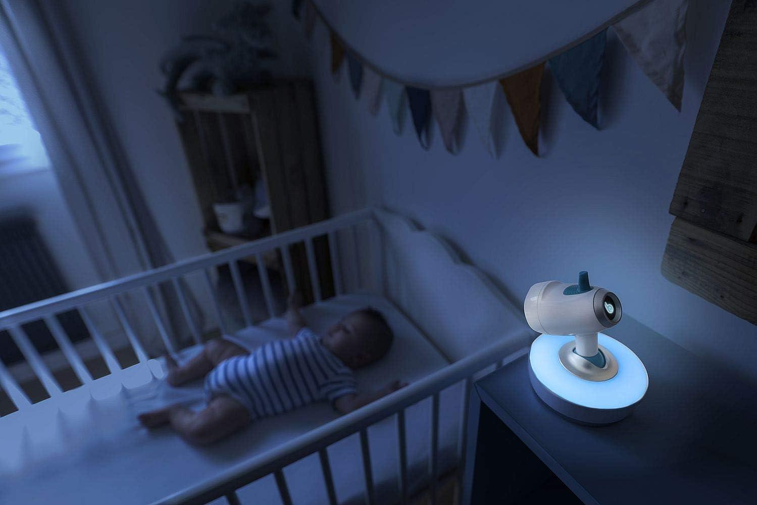 Babymoov YOO-SEE VIDEO BABY MONITOR UK PLUG Baby Toddler Nursery Safety BNIP