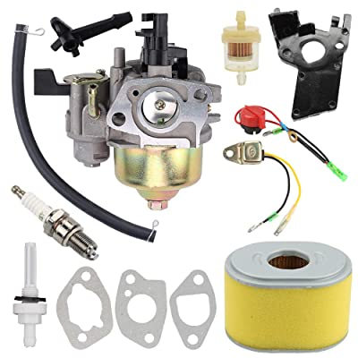 GX200 GX160 Carburetor with Air Fuel Filter Tune Up Kit for Honda GX120 GX160 GX200 5.5HP 6.5 HP Engine Replaces# 16100-ZH8-W61: Garden & Outdoor [5Bkhe1004112]