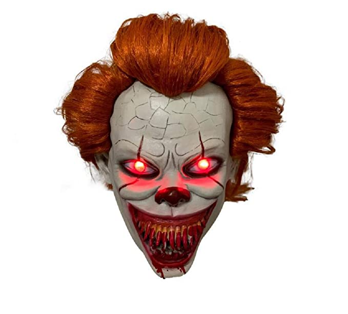 Amazon.com: XCOSTUME It Chapter 2 Costume Movie Mask with ...