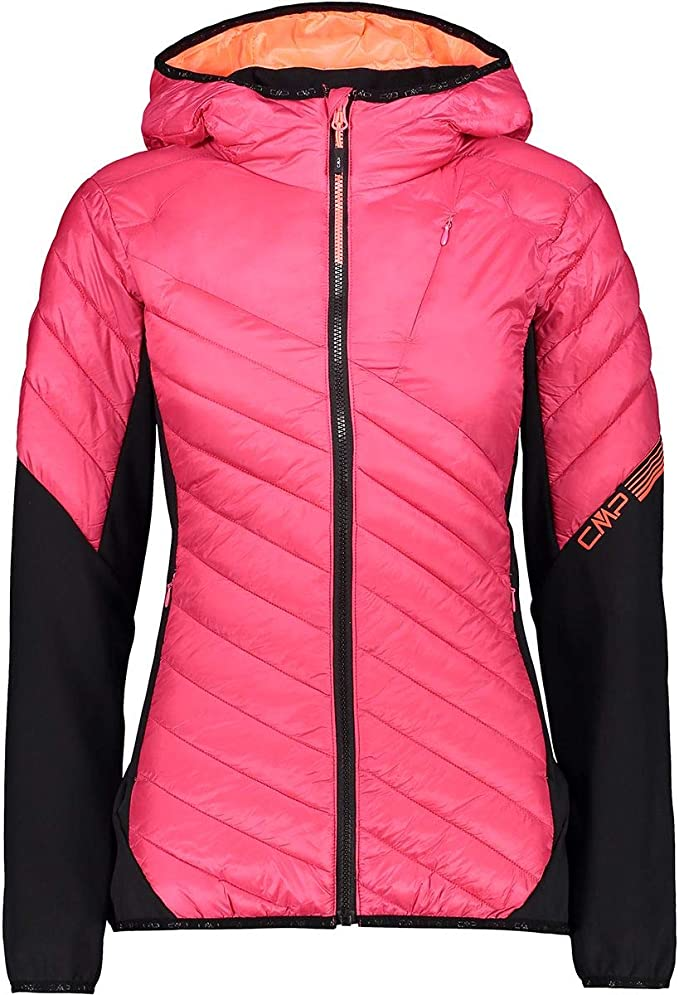 CMP Damen Giacca Softshell Comfort Fit Long Con Tecnologia Climaprotect Wp 7.000 Jacke