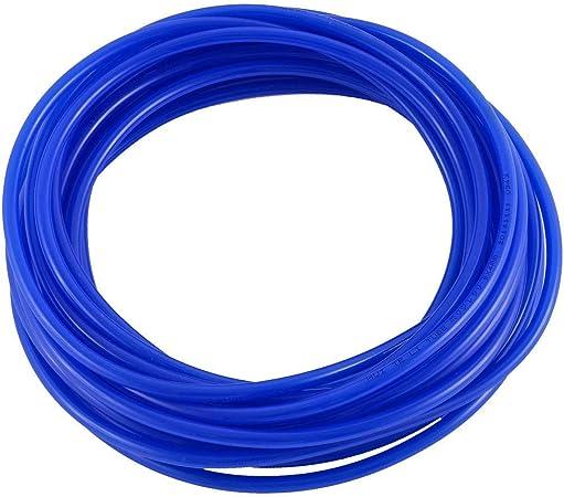 JACKBAGGIO Tuyau pneumatique en polyur/éthane pour compresseur dair 4 couleurs 10 m noir