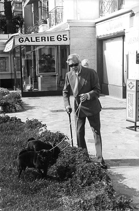 Vintage photo de Duque de Windsor con perros.