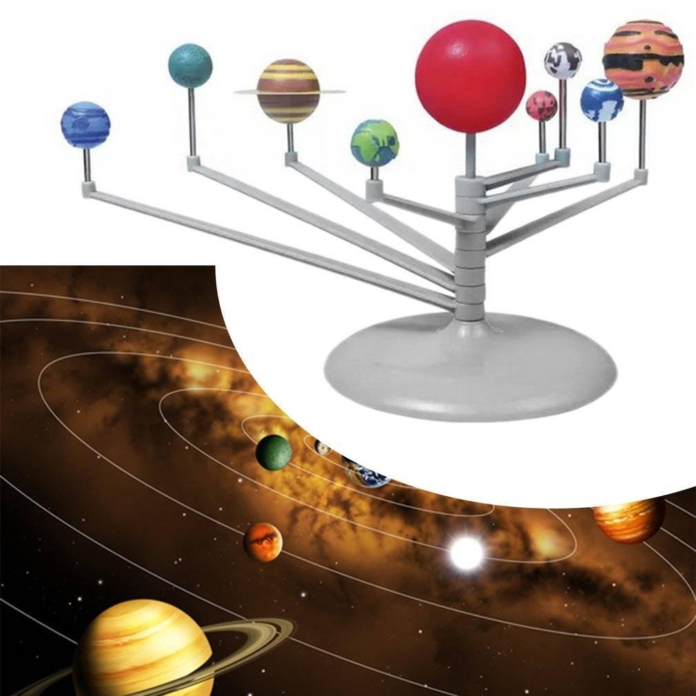 Amazon com: xhope Solar System Planetarium Model Kit