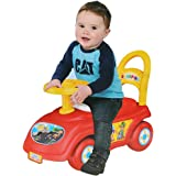 Livebest 3 In 1 Baby Ride-On Push Car, Walker Riding Stroller