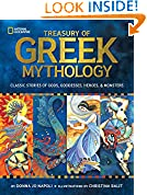 #4: Treasury of Greek Mythology: Classic Stories of Gods, Goddesses, Heroes & Monsters