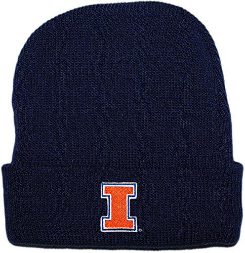 Creative Knitwear University of Illinois Newborn Knit Cap