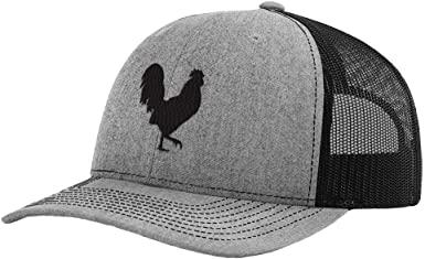 Custom Richardson Running Cap Game Cock Embroidery Animal Name Polyester Hat