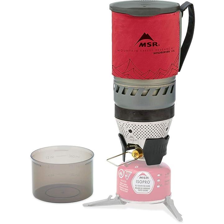 MSR WindBurner Stove System for Fast Boiling Fuel-Efficient Cooking
