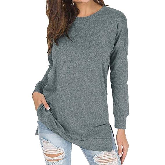 ASHOP - Felpa Donna Maniche Lunghe Felpa Hooded Sweatshirt Manica ... 83dd44ff701