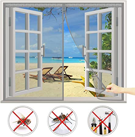 Cheng Rideau Magnetique Anti Insecte 80x220cm Rideau Moustiquaire