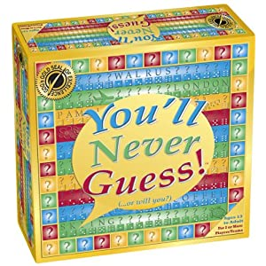 YOU'LL NEVER GUESS! Board Game - 612 DD 2Ber2L - You'll Never Guess! – Board Game