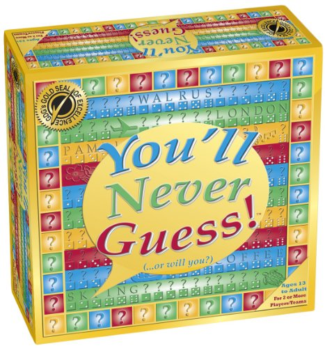 Youll Never Guess Board Game product image