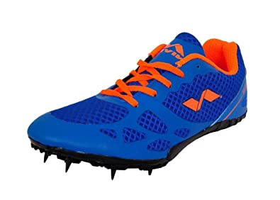 899275d153c Nivia Men s Spikes Spirit Synthetic Running Shoes  Buy Online at Low ...