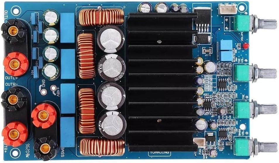 ZhanPing TAS5630 1300W 150W 150W Digital Power Can Adjust Output Volume Amplifier Board Subwoofer Amplifier plate