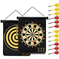 """HelaCueil Magnetisch veilig dartbord voor kinderen en volwassenen Ø15""""/38cm"""