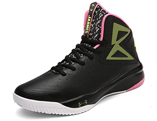 0eda102e58c SINOES Men and Women Basketball Shoes Fashion Sneaker Breathable Outdoor Sports  Shoes High-Top Athletic Running Shoes Fluorescence Jogging Trainers Boots  ...