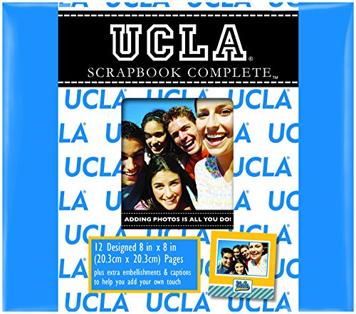 (C.R. Gibson Scrapbook Complete Kit, Small, UCLA Bruins (C879270M))