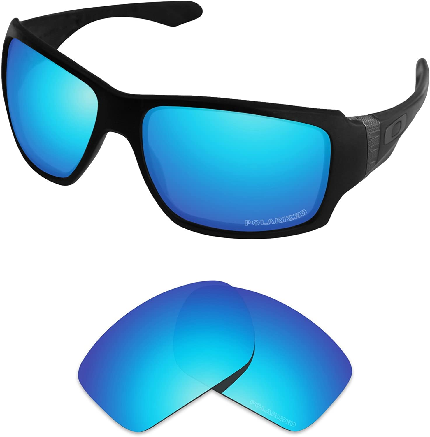 Tintart Performance Lenses Compatible with Oakley Big Taco Polarized Etched