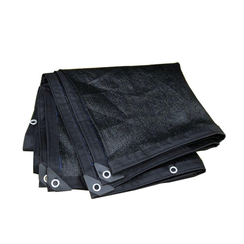 DEFD8 Parasol Net 8-Pin Cryptage Noir épaississeHommest écran Solaire Ombrage Net Réseau D'ombrage Filets Poinçons Bord Punch Une Variété De Tailles