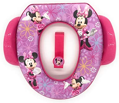 Disney Minnie Mouse Soft Potty Seat with Handles and Hook