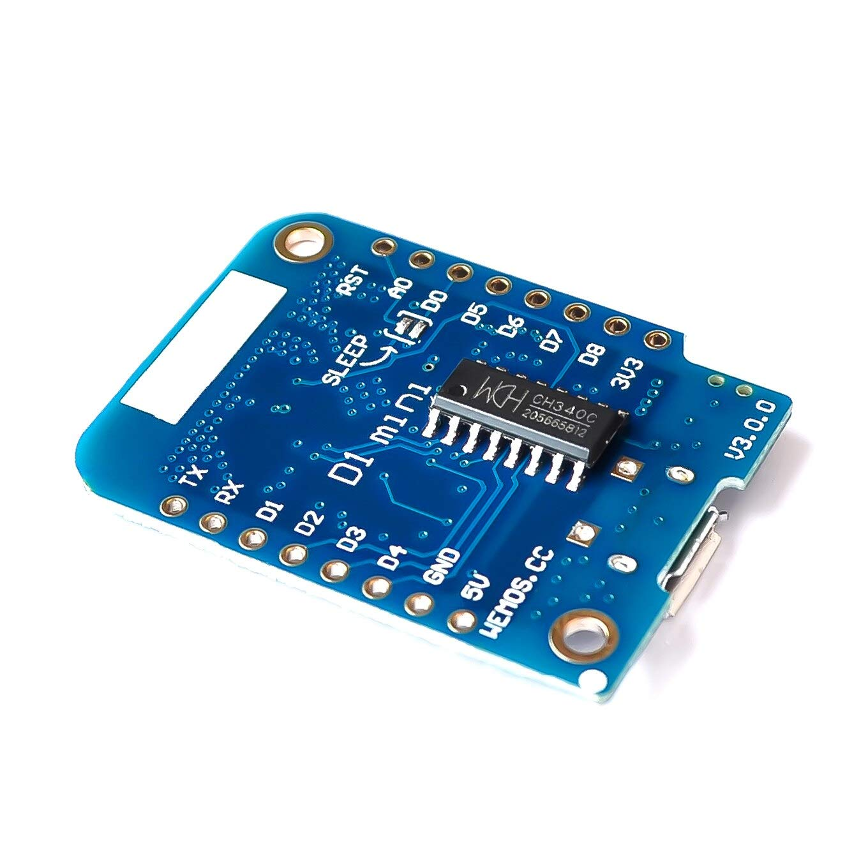 for Wemos D1 Mini V3.0.0 WiFi Internet of Things Development Board Based ESP8266 CH340 CH340G for Arduino Nodemcu V2 MicroPython