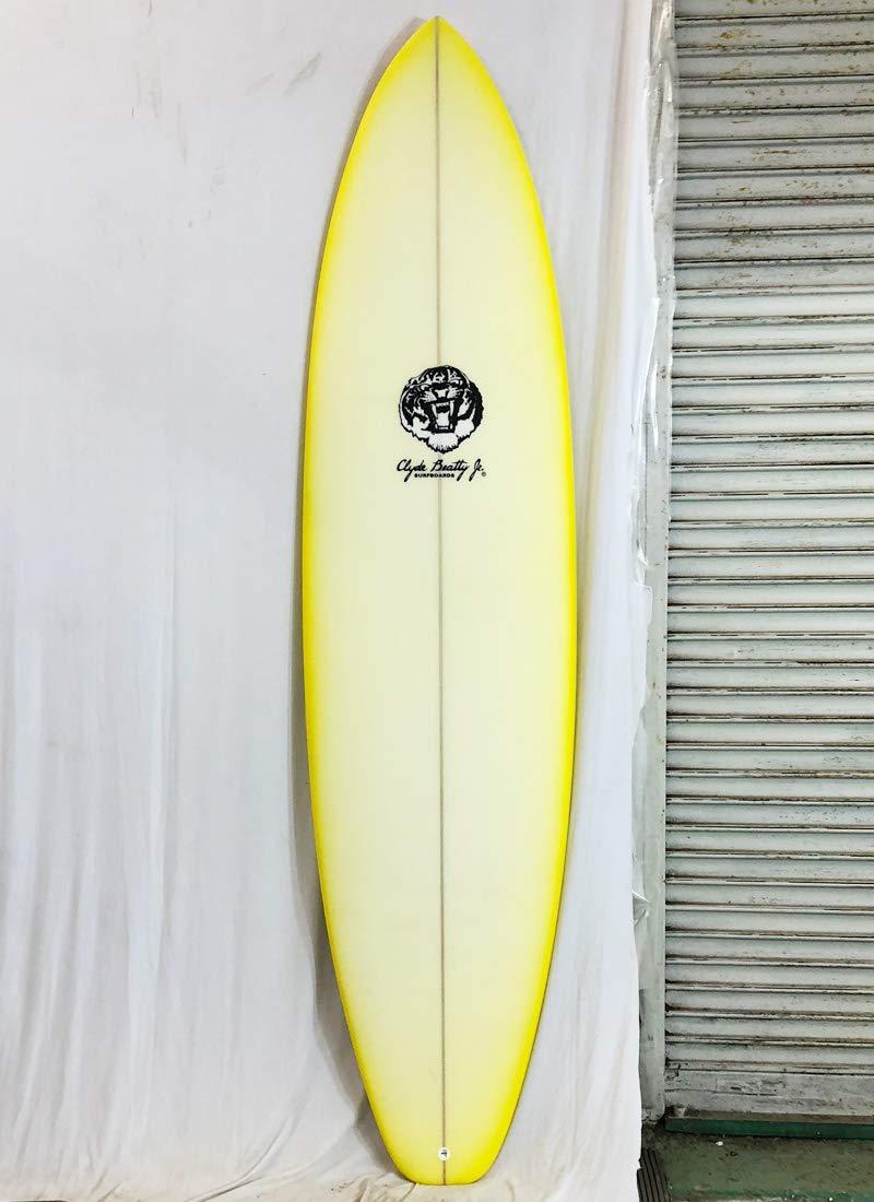 Clyde Beatty Jr(クライドビーティージュニア)サーフボード [clear/Yellow] 7'6
