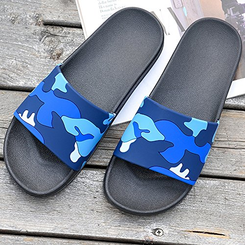 XIAOLIN Summer Bath Non-slip Bathroom Slippers Home Household Indoor And Outdoor Wear Korean Version Of The Brand Men's Slippers(Multiple Colors Available) (Optional Size) ( Color : 03 , Size : EU41/U 07