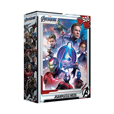 500Piece Jigsaw Puzzle Marvel Avengers Endgame II: Toys & Games
