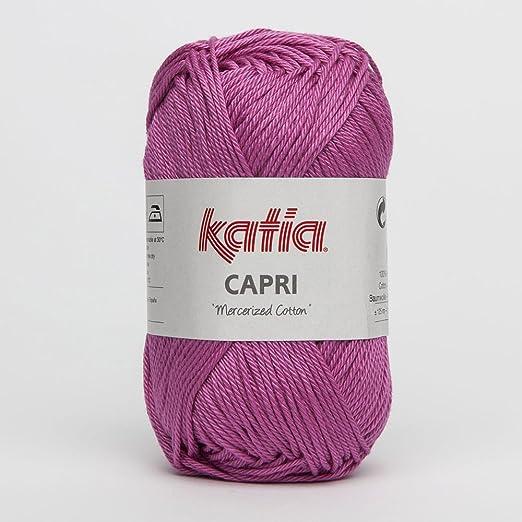 82138 Capri de Katia-fucsia claro - 50 G//aprox 125 M de lana