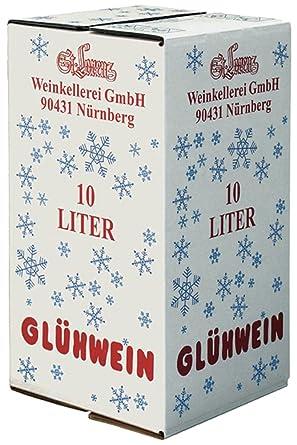 10 Liter Box St Lorenz Christkindl Glühwein Amazonde