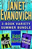 Book Cover for Janet Evanovich 3-Book Variety Summer Bundle: The Heist, Wicked Business, Smokin' Seventeen