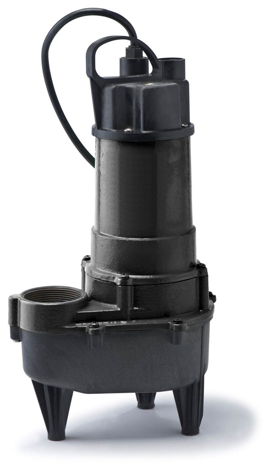 ECO-FLO Products RSE50M Manual Cast Iron Sewage Pump, 1/2 HP, 7,800 GPH
