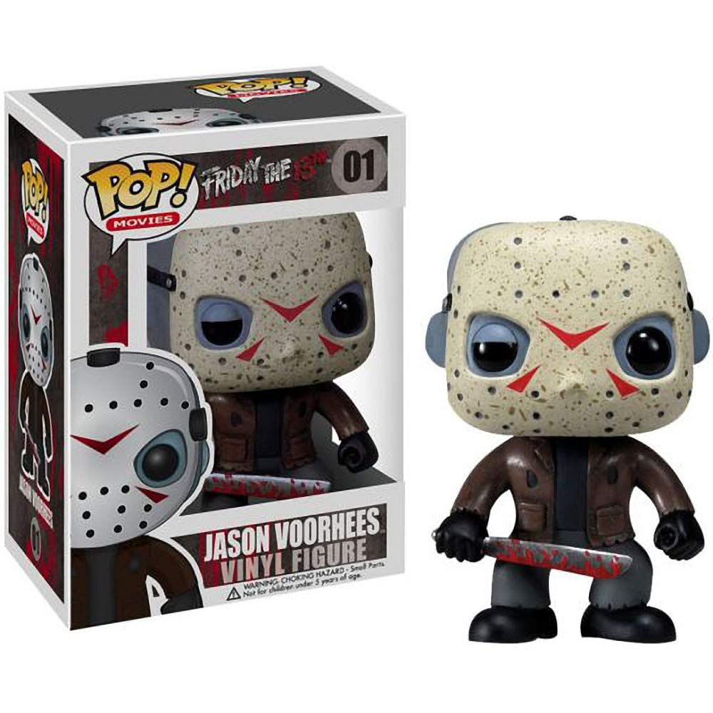 Funko Jason Voorhees Movies Vinyl Figure /& 1 PET Plastic Graphical Protector Bundle #001 // 02292 - B Friday The 13th x POP